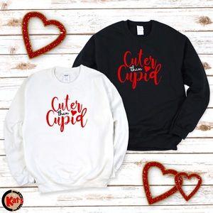 Cuter Than Cupid 💘 Sweatshirt